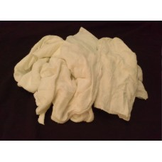 Cut White Thermal Wiping Cloths